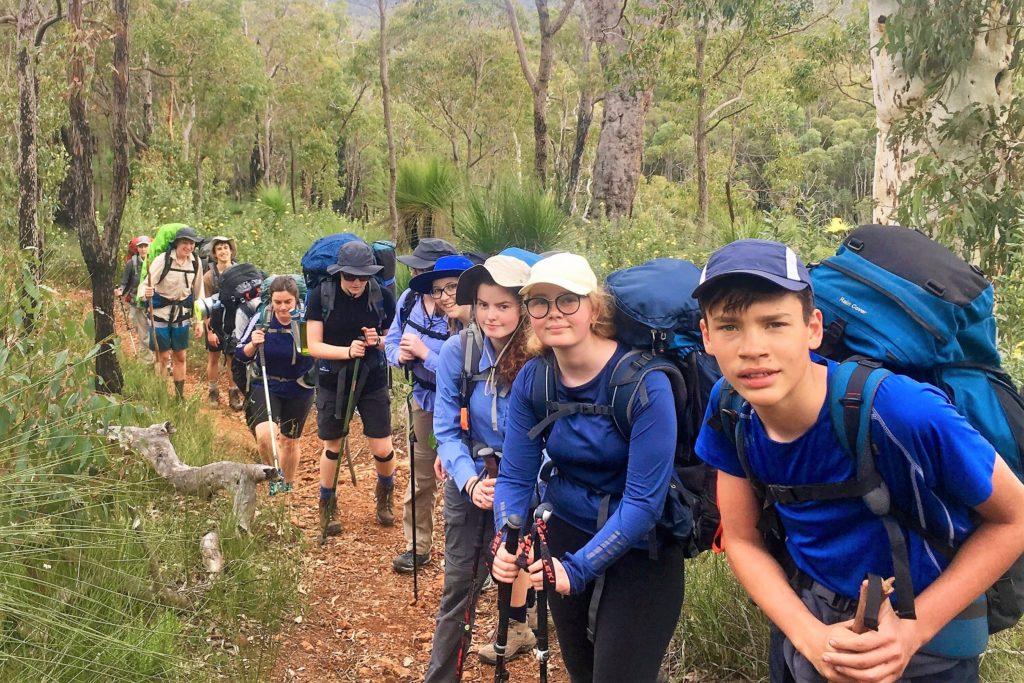 Didier Walks Bibbulmun Track Youth Hike